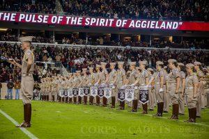 The Aggie Band bugle rank