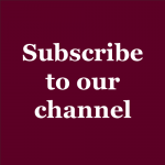 Subscribe to our Channel